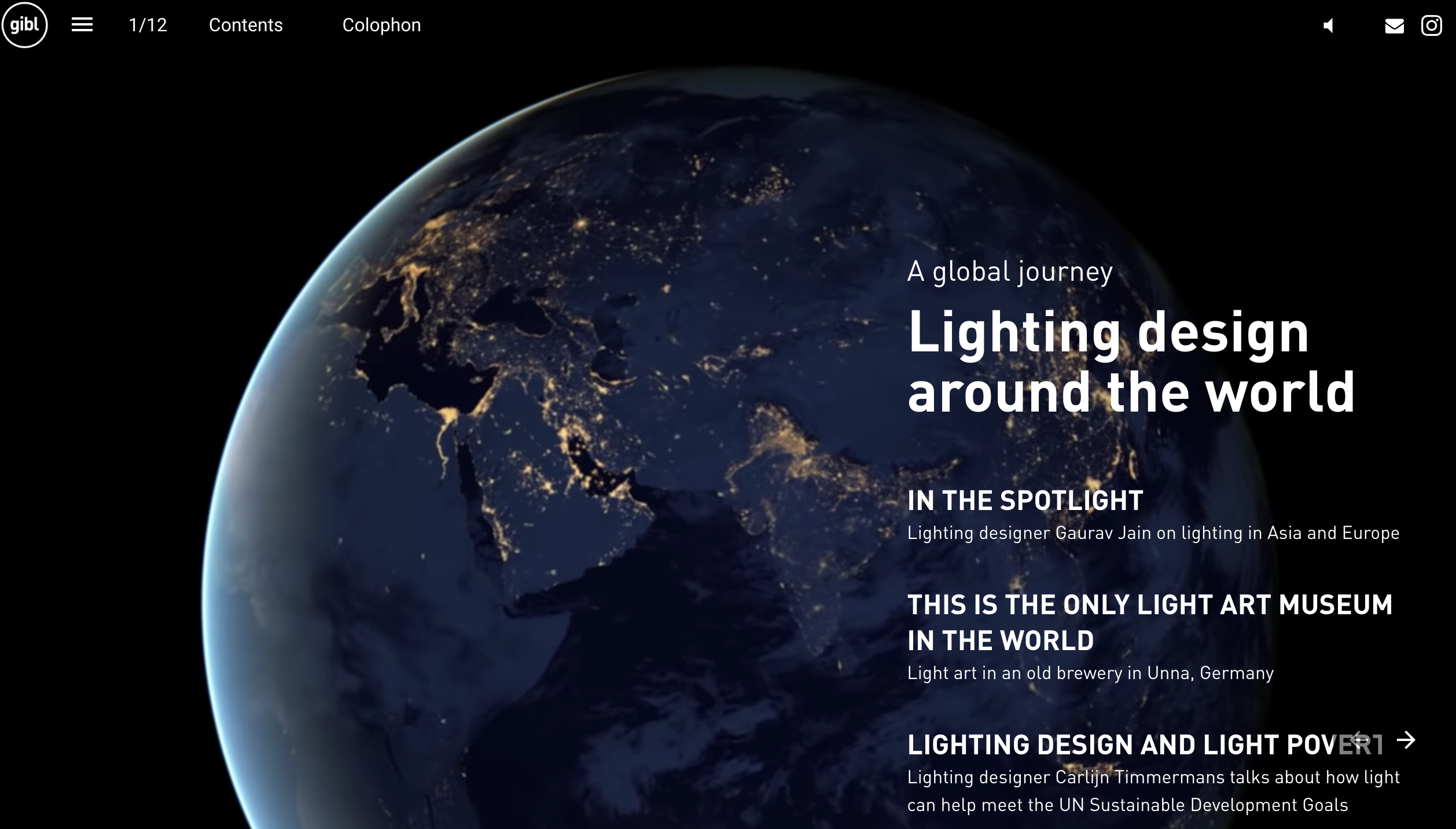 GIBL Get inspired by light architecture magazine lighting design around the world Jessica Merkens