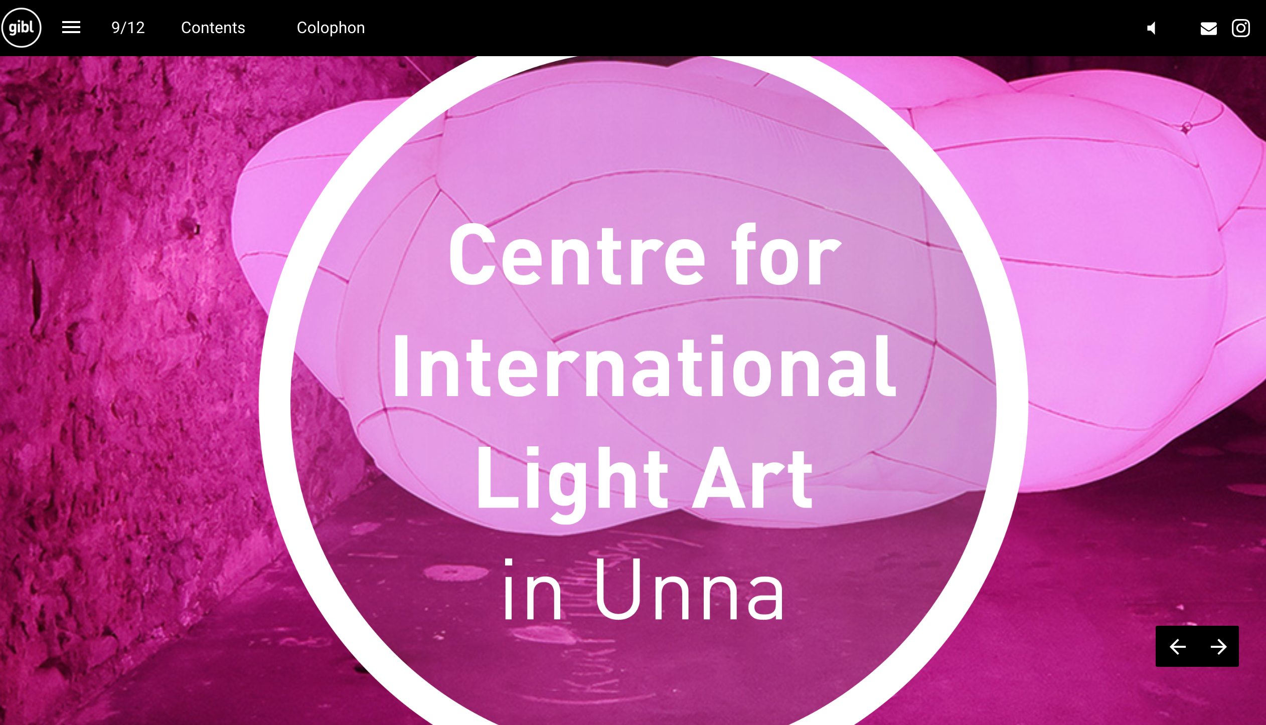 GIBL Get inspired by light magazine light art museum Unna