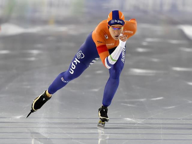 Jessica Merkens schaatsen Ireen Wust Fotograaf: Huub Snoep