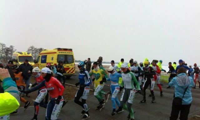 Hollands Venetiëtocht 2012 Jessica Merkens marathonschaatsen natuurijs