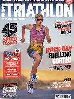 220 Triathlon magazine cover Jessica Merkens sports journalist