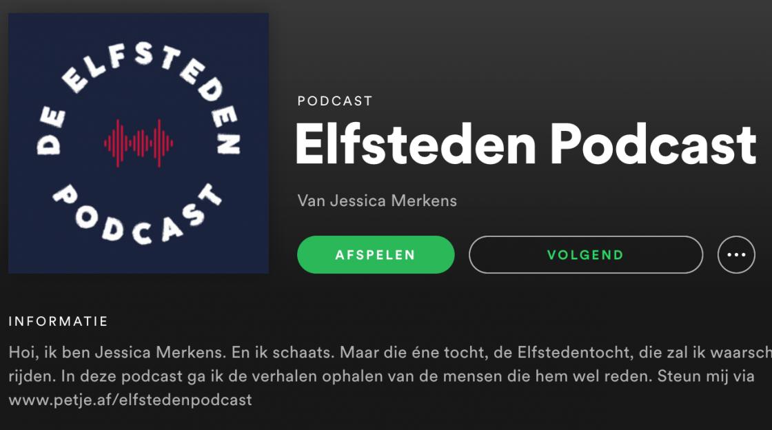 Elfsteden Podcast Elfstedentocht Jessica Merkens Spotify